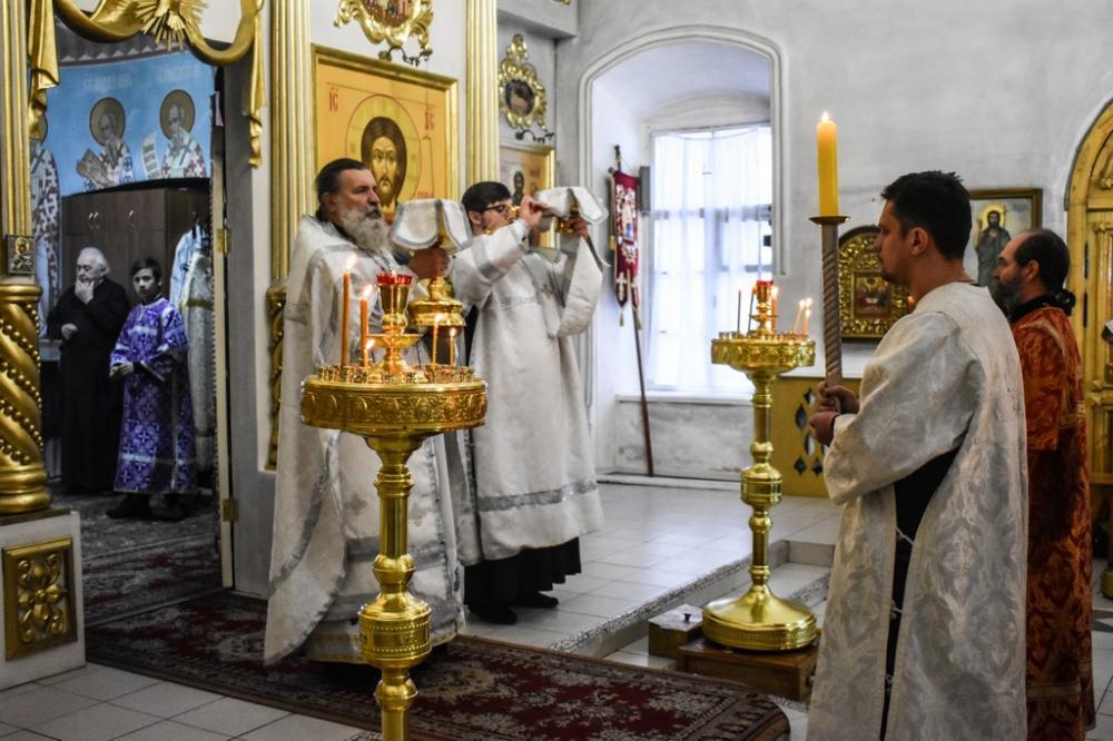 Престольный праздник храма Архангела Михаила в Красном селе