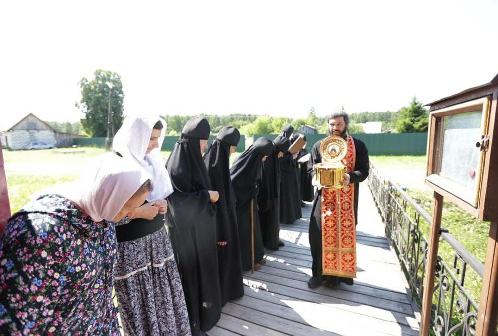 В Камешковском благочинии пребывает частица мощей святого благоверного великого князя Александра Невского